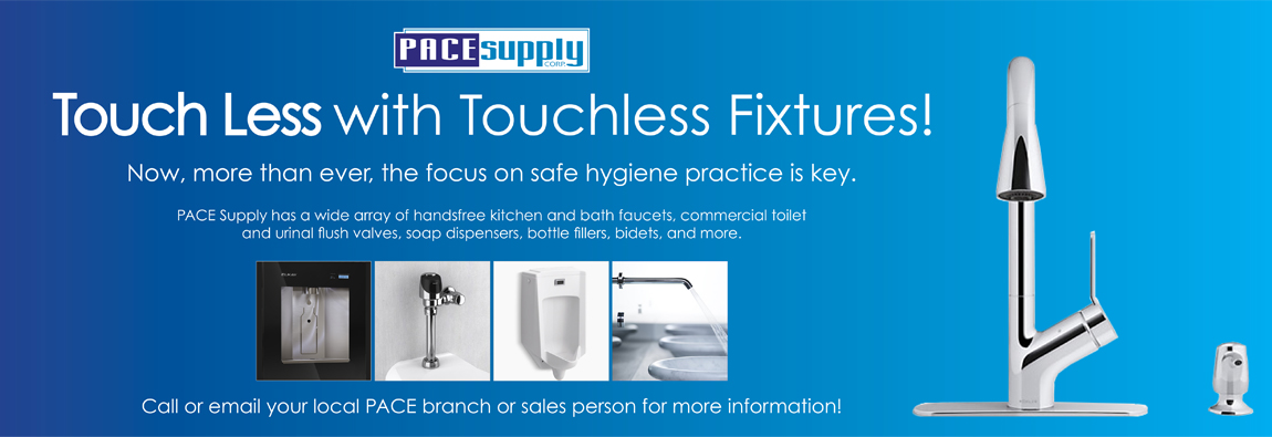 Touch Less with Touchless Fixtures