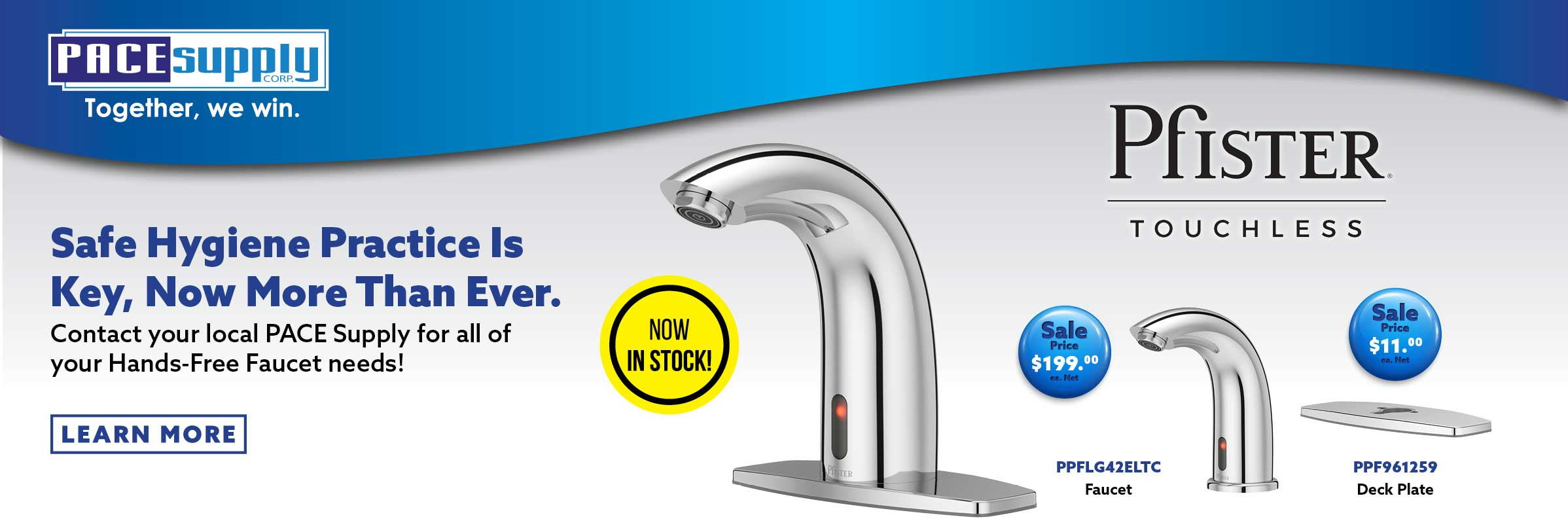 Pfister Touchless Hands-free Faucet
